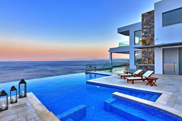 Swimming Pool Villa Heraklion